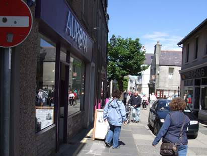 Kirkwall shopping street