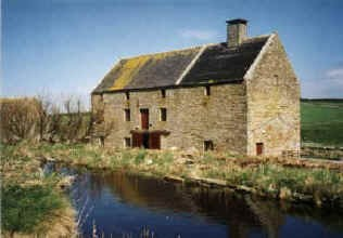 The new Barony Mill, also known as the Boardhouse Mill.